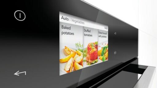 HOMECHEF: Touchskjerm og matassistanse. Foto: GORENJE/PRESSEMELDING