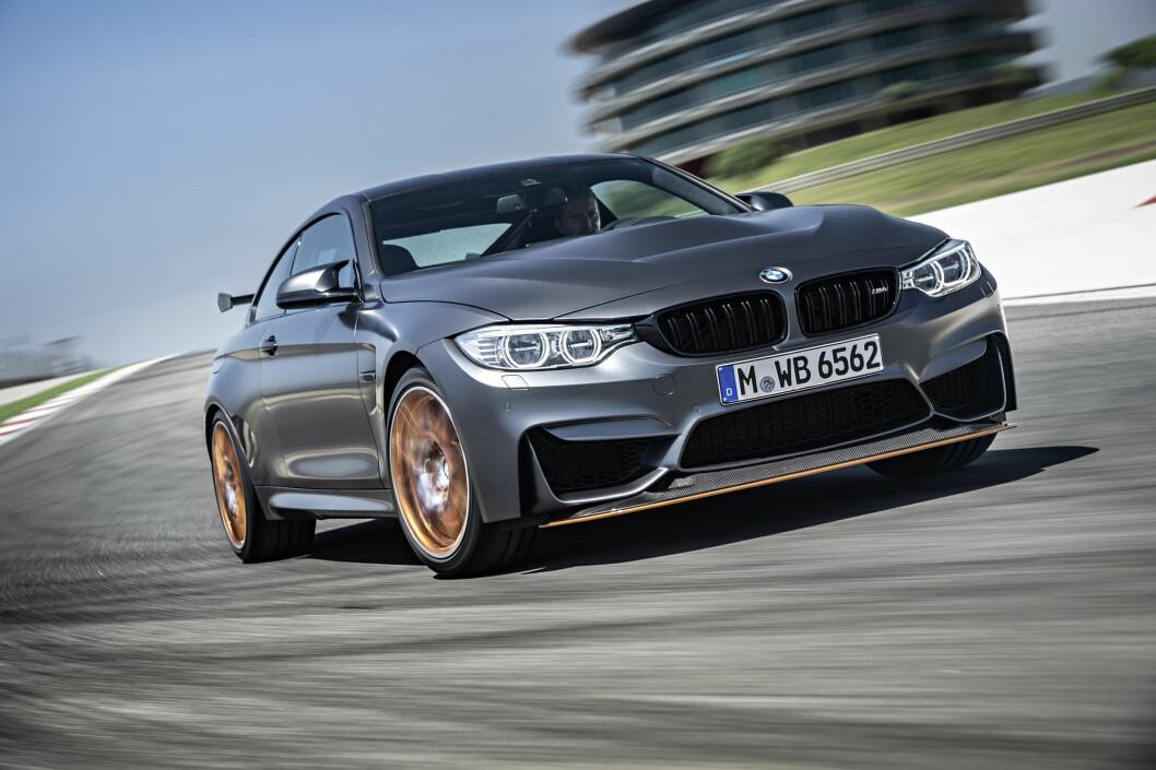 <strong><b>EFFEKTIV:</strong></b> BMW har offentliggjort tiden 7:28 rundt Nordsløyfa på Nürburgring. Det er seriøst raskt - raskere enn biler som Pagani Zonda F, Koenigsegg CCX og en tangering av tiden selveste Horst von Saurma oppnådde med McLaren MP4-12C . Foto: BMW