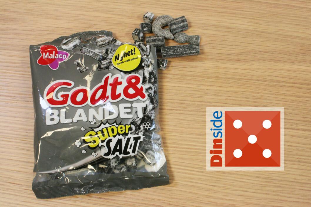 <strong><b>GODT & BLANDET SUPER SALT:</strong></b> Noen nye biter, enda saltere. Jatakk til mer! Foto: MERETHE HOMMELSGÅRD