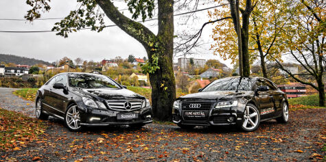 Brukttest: Audi A5 vs. Mercedes-Benz E-klasse Coupé