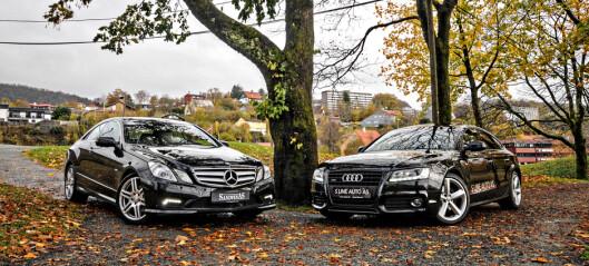 Brukttest: Audi A5 vs. Mercedes-Benz E-klasse Coupé