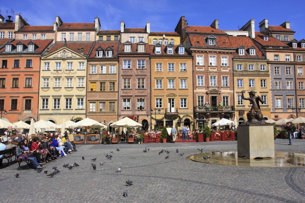 <strong><b>RIMELIG I ØST:</strong></b> Vil du ikke svi av for mye penger på en storbytur i høst, kan det lønne seg å reise for eksempel til Warszawa. Foto: PATSTOCK/NTB SCANPIX