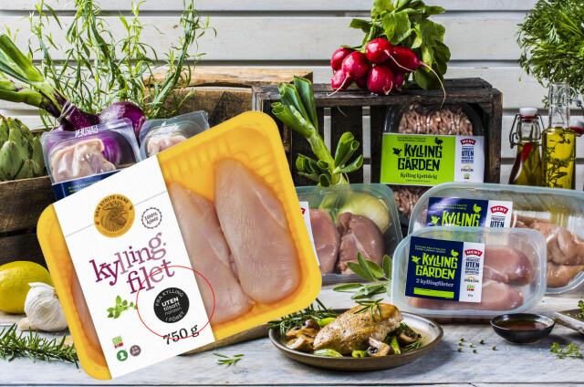 00cd0ac1 Dagligvarer: Flere produsenter lanserer narasin-fri kylling - DinSide