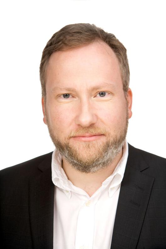 <strong><b>NYSGJERRIG:</strong> </B>Audun Skeidsvoll, forbrukerpolitisk direktør i Forbrukerrådet. Foto: cf-wesenberg/kolonihaven.no