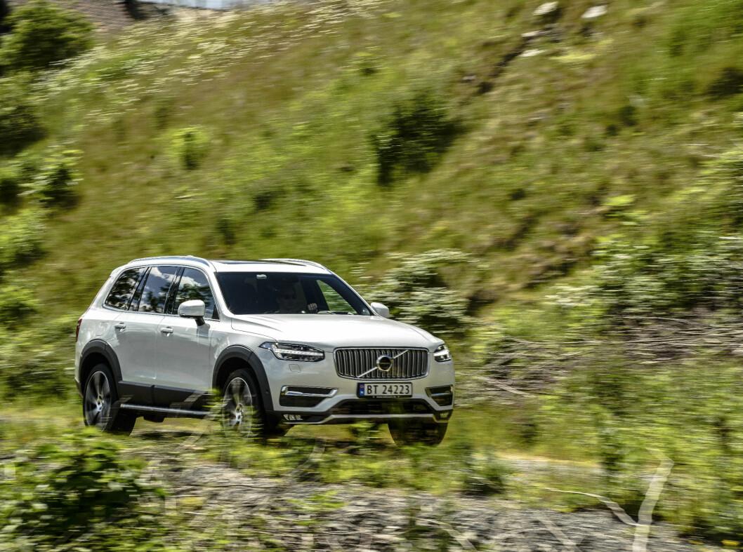 <strong><b>FREKK:</strong></b> Volvo har fått et design som er frekt og den vekker oppsikt.  Foto: Jamieson Pothecary