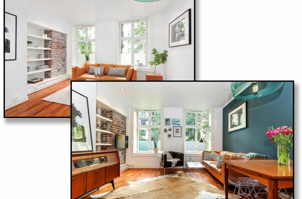 <b>ENKEL OPPUSSING SOM GIR UTTELLING:</b> Ved hjelp av enkel maling og lettere ommøblering gikk denne boligen fra ingen interesse til salg godt over takst. Foto: iHUS