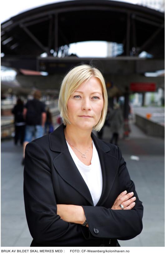 <strong><b>Inviterer til dialog:</strong></b> Ingeborg Flønes er direktør for forbrukerservice i Forbrukerrådet, Hun etterspør hva det er i garantien som er bedre enn det som dekkes gjennom forbrukerkjøpsloven.  Foto: CF Wesenberg / Kolonihaven