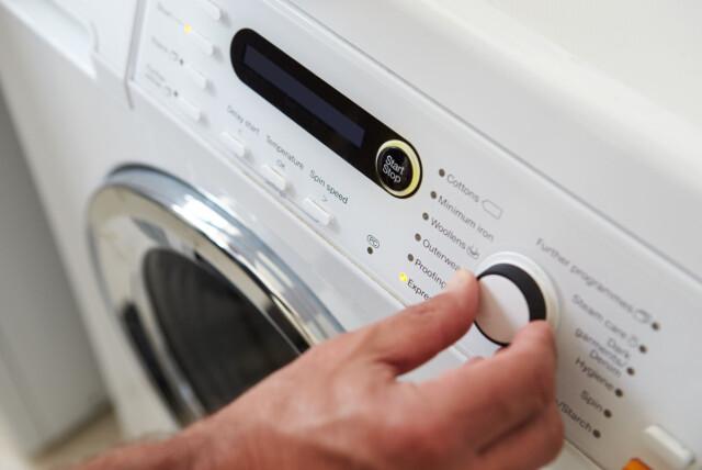 Vond lukt vaskemaskin
