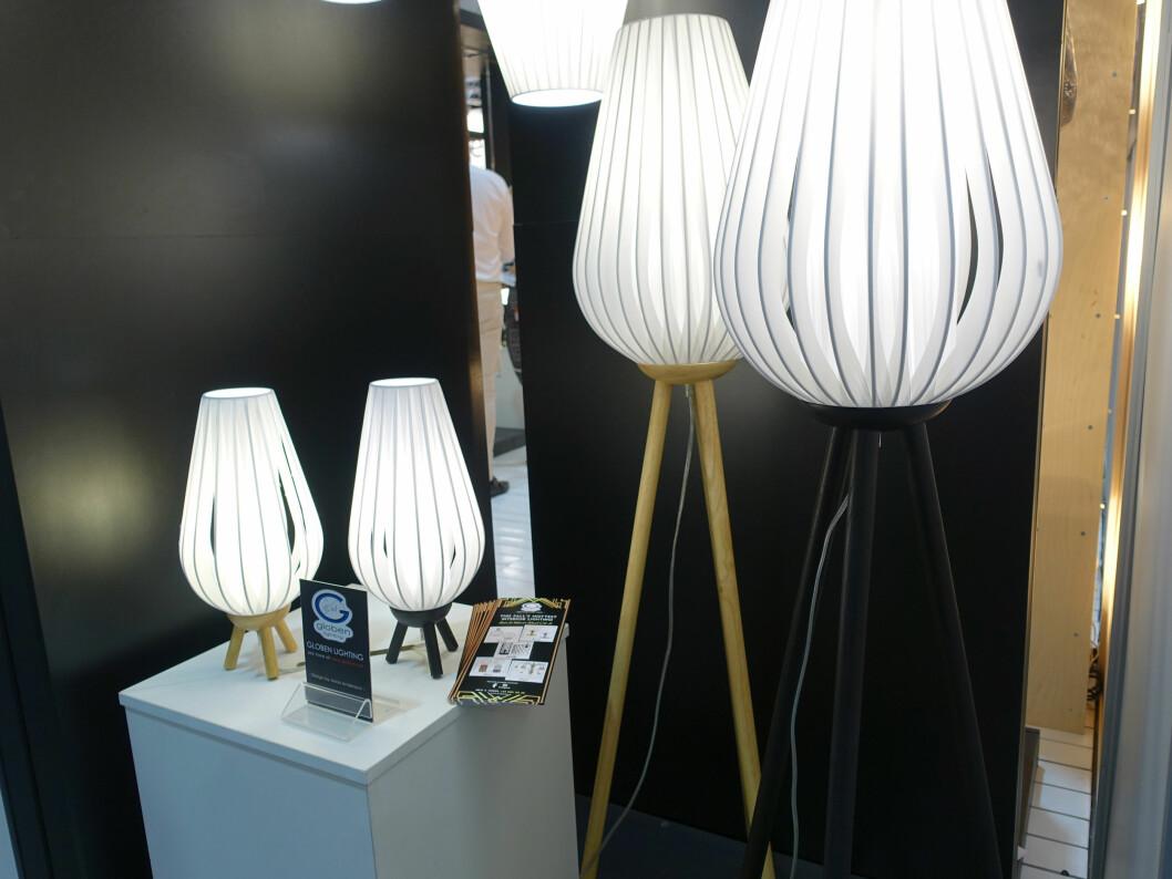 <strong><b>SKANDINAVISK:</strong></b> Den skandinaviske stilen brer om seg - også på lampefronten. Her lamper i skandinavisk stil, fra  Globen Lighting.  Foto: KRISTIN SØRDAL