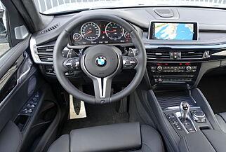 image: Dinside har kjørt råskinnet BMW X5 M!