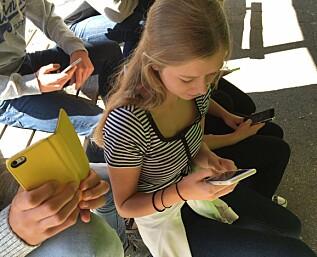 Kan skolen nekte deg å bruke mobilen?