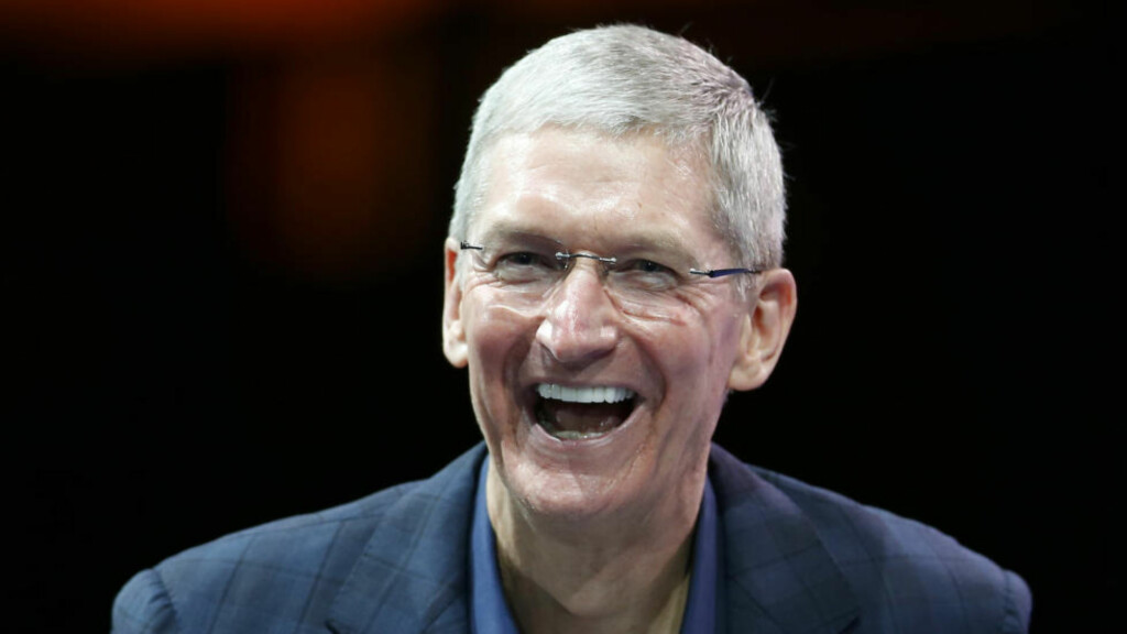 APPLE-SJEF: Tim Cook. Foto: REUTERS / Lucy Nicholson / NTB scanpix