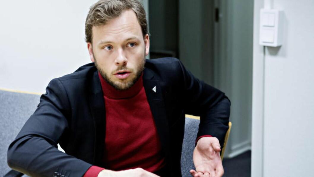 <strong>- HÅRREISENDE:</strong> SV-leder Audun Lysbakken forstår ikke UNEs konklusjon. Foto: Nina Hansen / Dagbladet