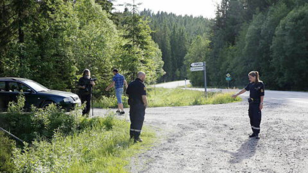 KIDNAPPET: Mansur Mahashev, som er etterlyst for å ha kidnappet sine biologiske døtre Rajana (6) og Somaja (8) på Austmarka utenfor Kongsvinger den 10. juni, har lastet opp en video fra kidnappingen på Youtube. De to jentene ble kidnappet da de gikk av skolebussen ved beredskapsforeldrenes hus. Foto: Lars Eivind Bones / Dagbladet
