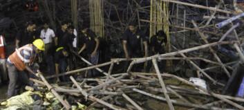 Minst 21 omkom i bygnings- kollapser i India