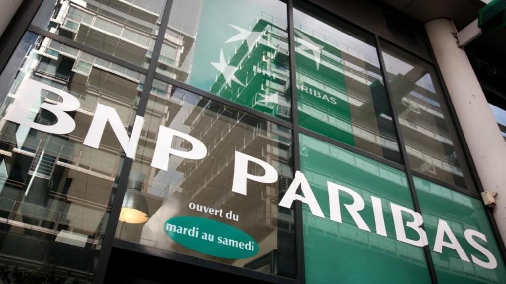 FÅR KJEMPEBOT: Frankrikes største bank har vært under etterforskning for å ha brutt USAs økonomiske sanksjoner mot Sudan, Iran og Syria mellom 2002 og 2009. Foto: AFP / NTB scanpix