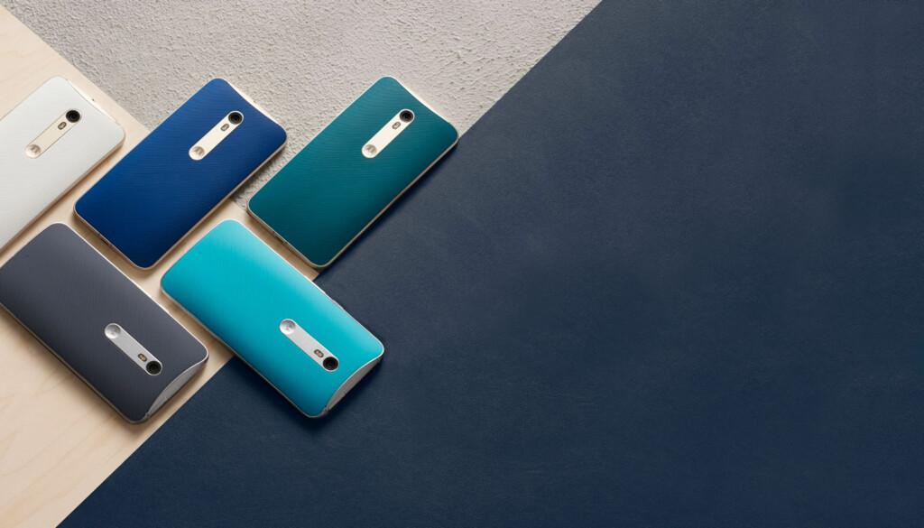 LAG SELV: Via Moto Maker tilbyr Motorola kundene å designe telefonen sin selv; både innvendig og utvendig.
