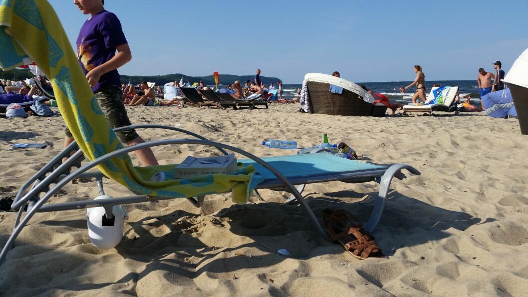 <strong><b>DUMT:</strong> </B>Verdisaker på stranda. Foto: NINA SKAUGVOLLDAL