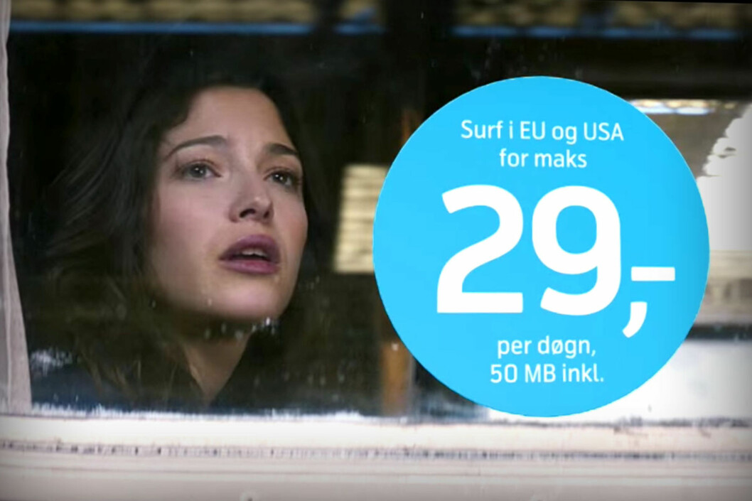 <strong><b>OLALA:</strong> </B>Den franske kvinnen i Telenor-reklamene må stadig gi tapt for Telenors surfepriser. Men hvor gode er de egentlig? Foto: TELENOR PÅ YOUTUBE