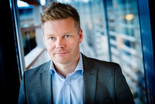 <strong><b> STØTTER REGULERINGEN:</strong> </b> Informasjonssjef i Telenor, Tormod Sandstø, forteller at Telenor ønsker den nye reguleringen velkommen. Foto: BJORN H STUEDAL   / TELENOR