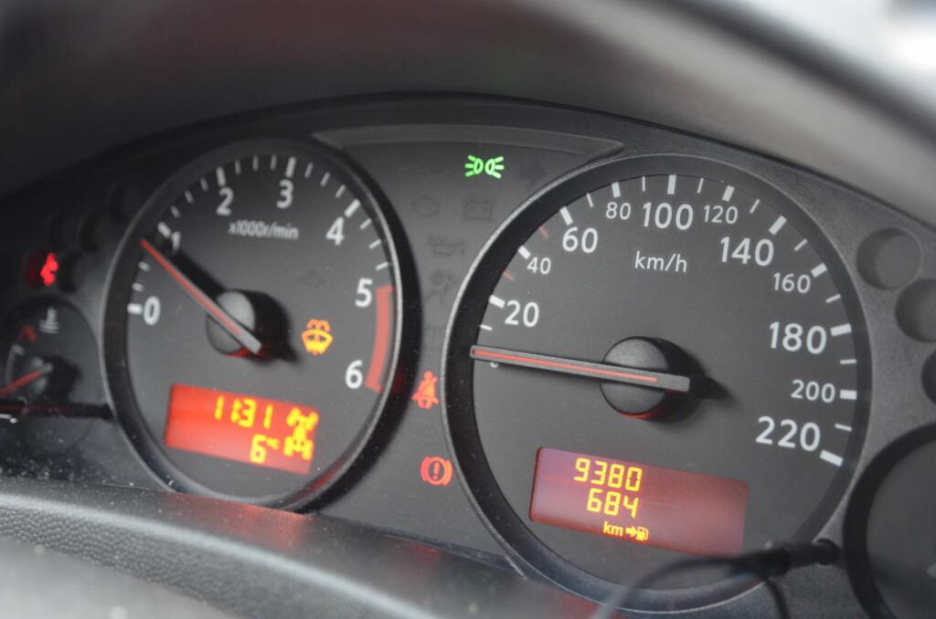 <b>HUSK:</b> Sjekk om du er på vei til å overskride antall kilometer - før ferien. Foto: DINSIDE