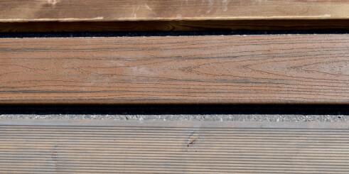 Terrassebord som nesten ikke krever vedlikehold