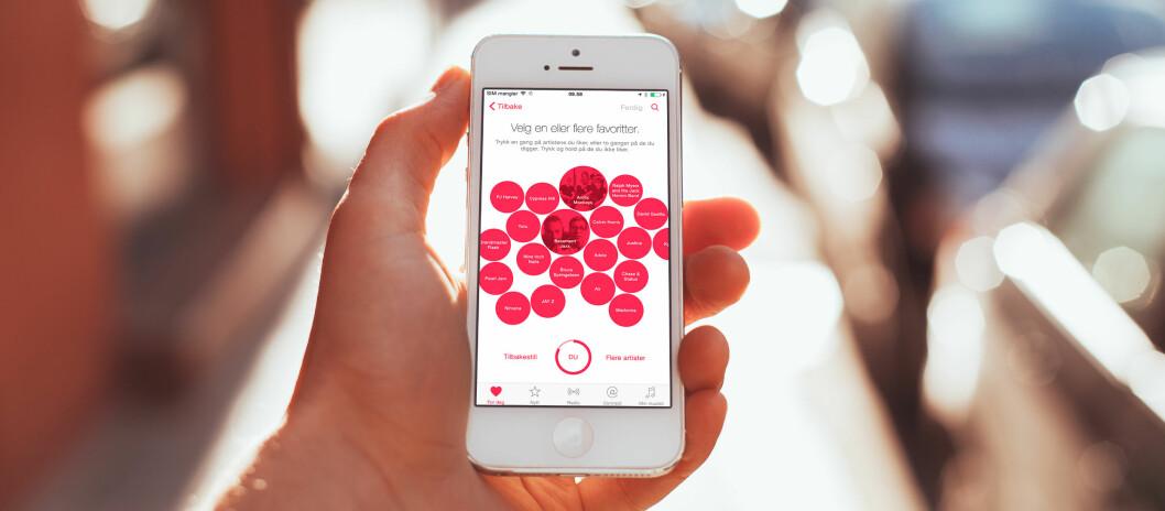 <strong><strong>ENDELIG:</strong></strong> Etter at Apple kjøpte Beats i 2014 har selskapet endelig sluppet sin nye musikktjeneste, Apple Music. Foto: PÅL JOAKIM OLSEN
