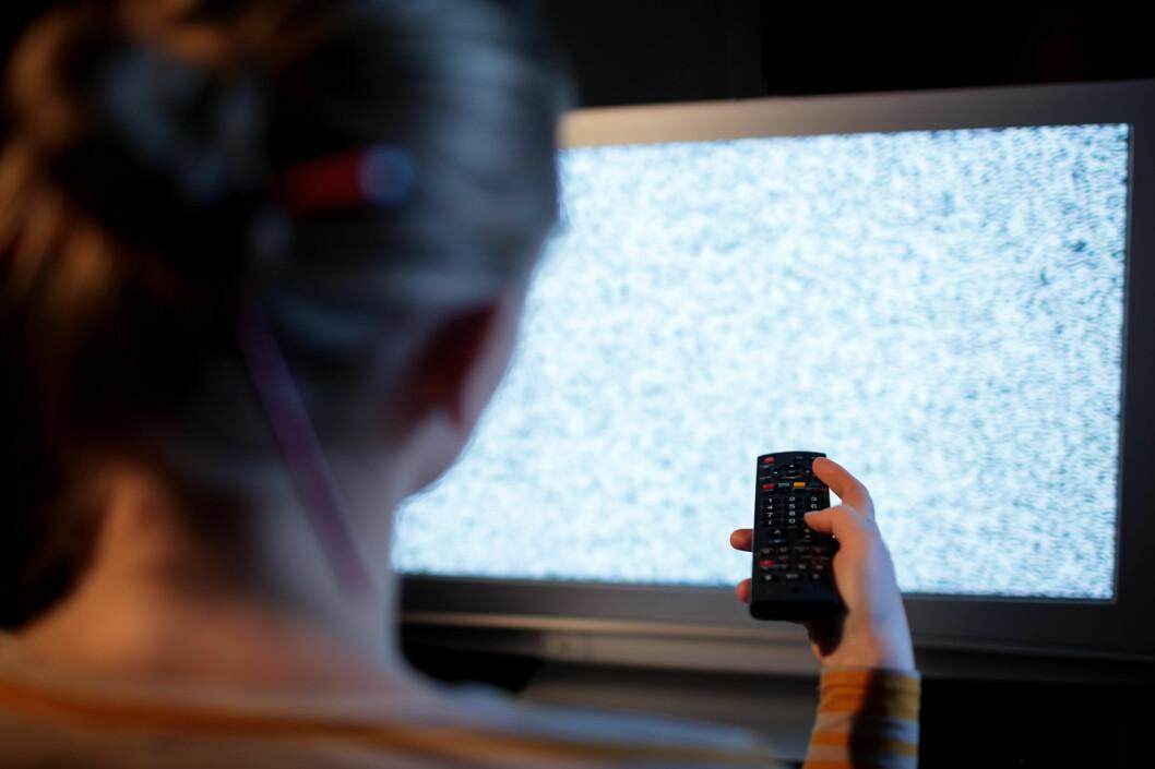 <strong><b>SKURRER:</strong> </B>Det er mange forbehold om TV-er i trygghetsforsikringene.  Foto: DANR13 / NTB SCANPIX