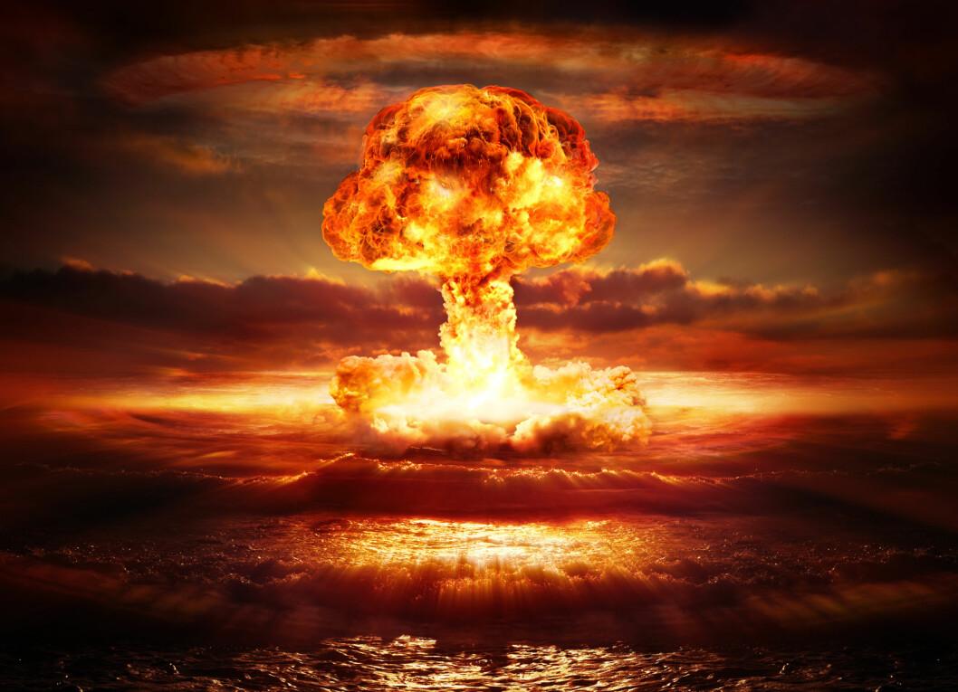 <strong><b>IKKE NOK MED DET:</strong> </B>Skulle du få problemer med brødristeren som følge av atomkrig, så... glem det, da har du viktigere ting å tenke på.  Foto: ROMOLO TAVANI / NTB SCANPIX