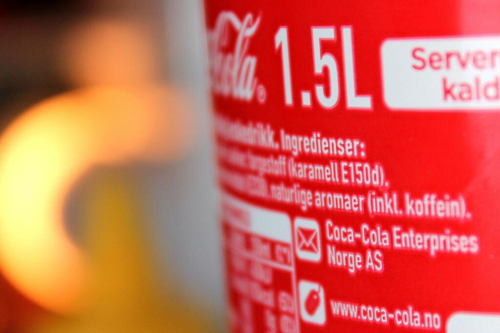 HEMMELIG: Vi spurte også Coca-Cola hva de har i sin aroma. Naturlig nok fikk vi ingen svar fra dem heller.  Foto: OLE PETTER BAUGERØD STOKKE