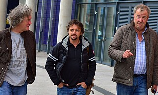 SUKSESSTRIO: James May, Richard Hammond og Jeremy Clarkson forlot Top Gear etter den 22. sesongen. Foto: BBC
