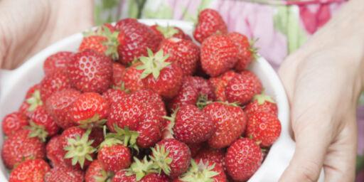 image: Slik vasker du frukt og bær
