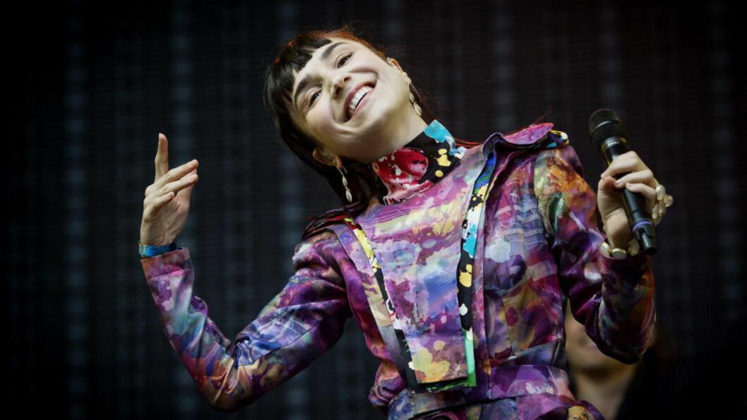 <strong>FIN:</strong> Shortskjolen til Laleh var noe av det beste med hele konserten.  Foto: John T. Pedersen / Dagbladet