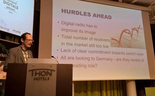 HUMPER I VEIEN: EBU-sjefen Christian Vogg mener DAB har et ufortjent dårlig rykte. Foto: TORE NESET
