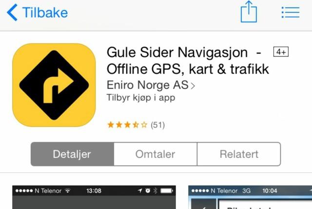 Navigasjon Den Beste Gratis Gps Appen Karet Dinside