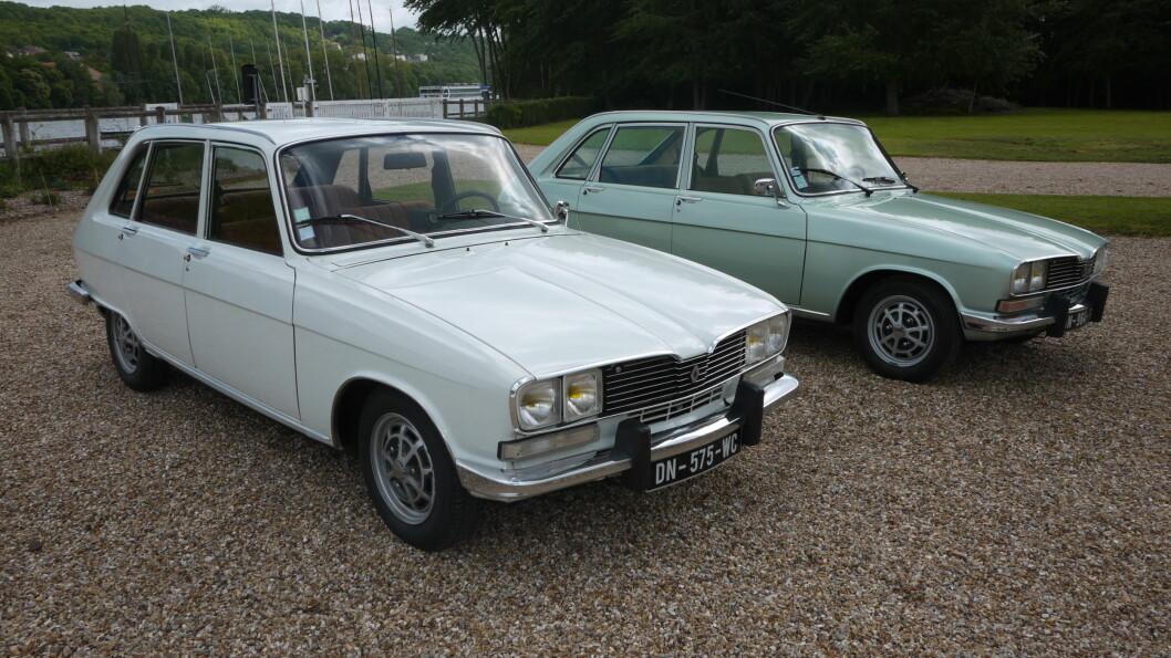 <strong><b>VED SEINEN:</strong></b> Renault 16 ble produsert i fabrikker ved elva Seinen. Foto: Lord Arnstein Landsem