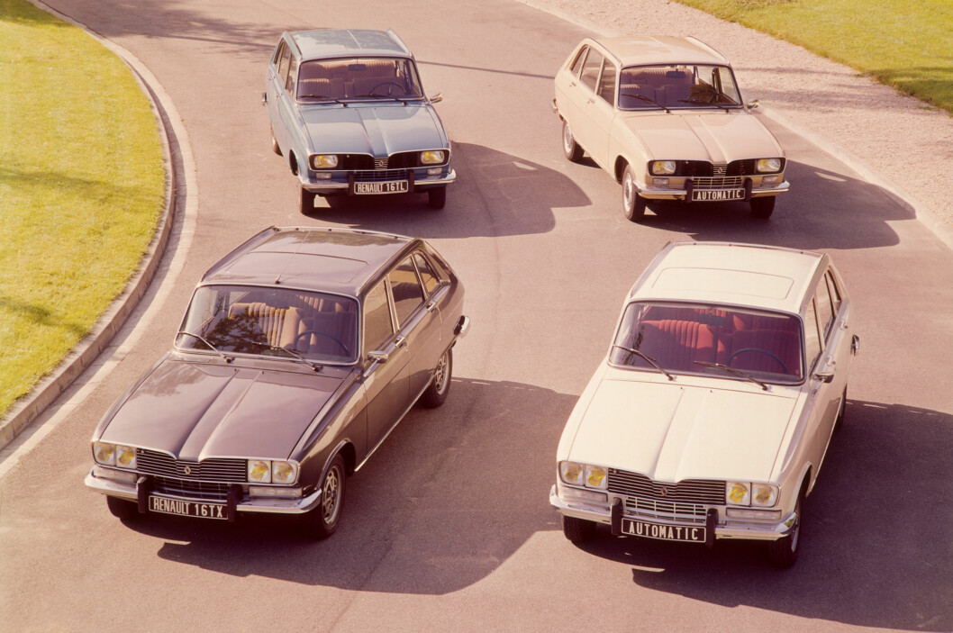 <strong><b>LEGENDE:</strong></b> I løpet av 15 år ble Renault 16 legendarisk. Foto: Renault