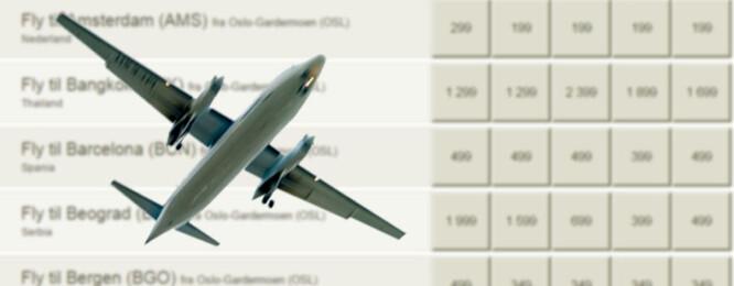 Blir flybillettene dyrere når du sjekker priser flere ganger?