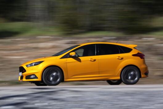 <strong><b>JUMBOPLASS:</strong></b> Av bilmerkene som er representert på årets kundebarometer, kommer Ford på sisteplass i år. Foto: RUNE M. NESHEIM