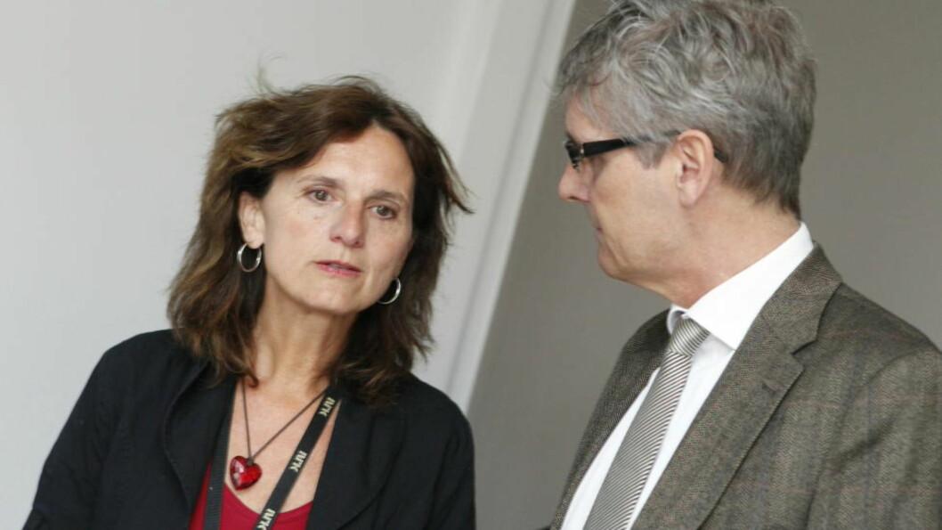 <strong>UTSATT FOR NETTHETS:</strong> NRK-journalist Sidsel Wold har flere ganger blitt utsatt for netthets. Nå er det opprettet en ny hatgruppe mot henne. Foto: Berit Roald / NTB scanpix