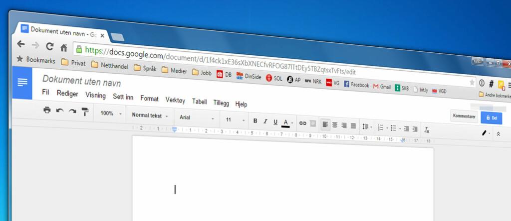 Nyttige Triks Til Google Docs DinSide - Google dokument