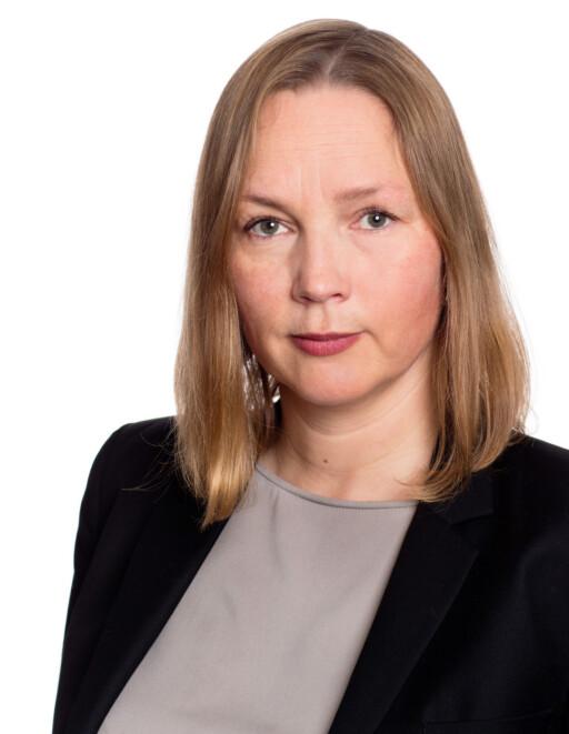 ADVARER: Prosjektleder for Velgeekte.no og seniorrådgiver i Patentstyret, Hedvig Bengston, mener salg av piratvarer i utgangspunktet er ulovlig.  Foto: PATENTSTYRET