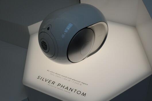 <strong><B>TOPPMODELL</B>:</strong> Silver Phantom gir 105 desibel og koster 21.500 i Norge. Foto: TORE NESET