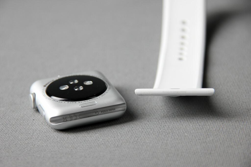 KAN BYTTES: Apple tillater også tredjeparter å lage klokkeremmer til Watch. Foto: PÅL JOAKIM OLSEN
