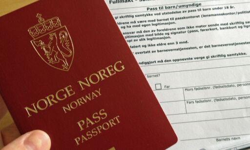 image: Ikke glem fullmakt når du søker om pass til barna