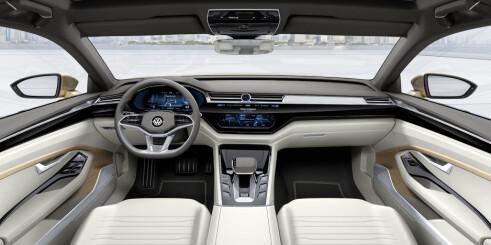Volkswagen viser C Coupé GTE