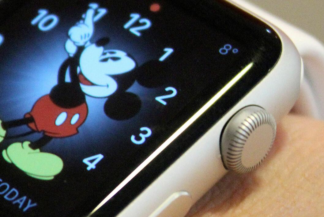 <strong><b>TESTER NÅ:</strong> </b>Dinside har nå Apple Watch inne til test. Om klokka engang er verdt de offisielle prisene, kommer vi derfor tilbake til.  Foto: OLE PETTER BAUGERØD STOKKE