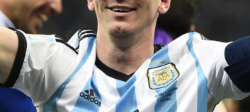 Messi én kamp unna å bli tidenes spiller