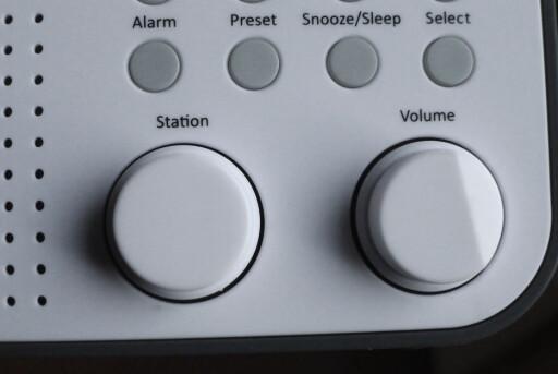 STASJONSVELGER: Vi savner knapper for hver enkelt radiokanal. Foto: TORE NESET