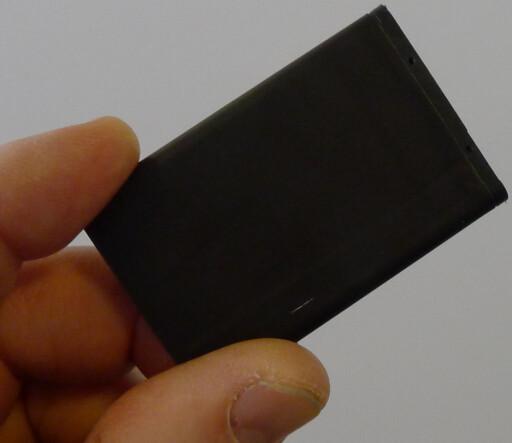 NOKIA-BATTERI: Vi drar kjensel på 5C fra Nokia-telefoner vi brukte for noen år siden. Batteriet selges fortsatt til en billig penge. Foto: TORE NESET